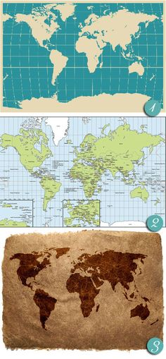 Free world map downloads at http://blog.idoityourself.com.au/2011/01/free-map-downloads.html  #maps #downloads #printables