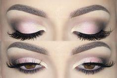♡ Soft Pink Glam Holiday Smokey Eyes ♡ Make Up Tutorial | Melissa Samways