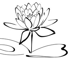calligraphy images | calligraphy Lotus - http://www.wpclipart.com/plants/flowers/_C ...