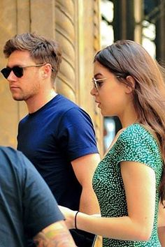 Niall Horan and Hailee Steinfeld in NYC