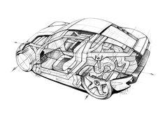 sketch Concept LADA Gran Turismo on Behance