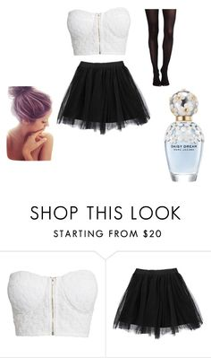 """""""Does this tutu make my but look big"""" by chica-apollo ❤ liked on Polyvore featuring NLY Trend, Boohoo, SPANX and Marc Jacobs"""