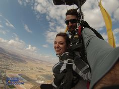 Skydiving over Eilat