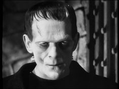 "Boris Karloff in James Whales ""Frankenstein"" - awesome!"