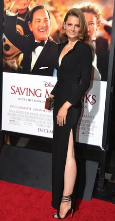 "Stana Katic at Disney's Premiere of ""Saving Mr. Banks"" at the AFI FEST 2013 on November 7, 2013"