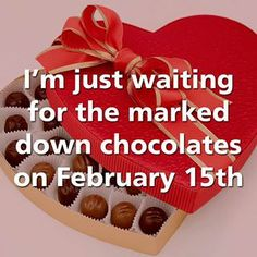 Happy National Chocolate Clearance Day!!! Who is hitting the sale aisles today?