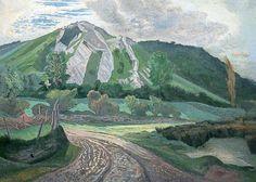 Bore Hill Gower - John Northcote Nash paintings