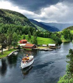 Flåbygd, Norway