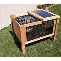 Gronomics Solar Assist Composter 36x45x32