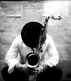 """Lester Young """"Prez"""" for whom the song """"Goodbye Porkpie Hat"""" was written."""