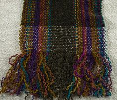 Finishing chenille scarves - How to keep chenille fringe from unravelling