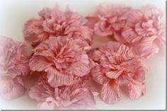 Joy Crafts: Paper flowers blossom tutorial