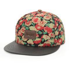 Rose SNAPBACK Caps for Women Men Letter Street Floral Hip Hop Hat Top Quality Adjustable Baseball Cap