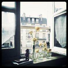 flowers in Paris....