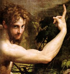 The Vision of Saint Jerome is a painting by the Italian Mannerist artist Parmigianino, executed in 1526–1527. It is now in the National Gallery, London, United Kingdom.