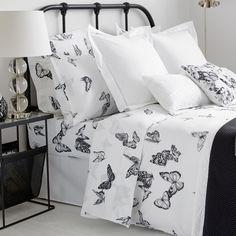 Imagen 3 del producto Sábanas y Fundas Algodón Mariposas