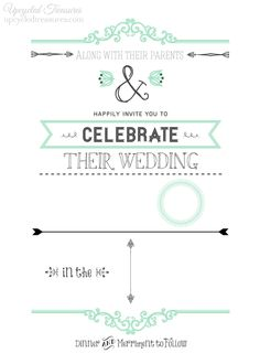 blank-DIY-wedding-invitation-template-upcycledtreasures
