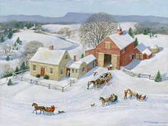 Homestead at an Angle ~ by Charlotte Joan Sternberg