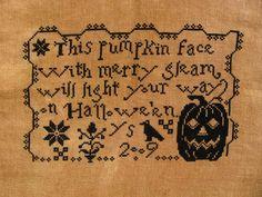 Escape and Create: A Halloween XStitch Finish