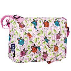 My Sweet Dreams Baby - Kid's Messenger Bags- Owls (http://www.mysweetdreamsbaby.com/wmessengerbags.htm)