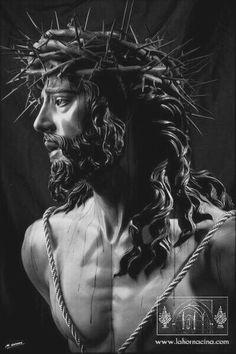 Jesus Art, God Jesus, Religious Images, Religious Art, Pontius Pilatus, Christus Tattoo, Jesus E Maria, Jesus Christus, Jesus Pictures