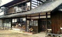 Post with 4170 views. japan trip refs Japanese Buildings, Japanese Architecture, Historical Architecture, Modern Buildings, Architecture Design, Japanese Style House, Japanese Modern, Japanese Interior, Retro Cafe