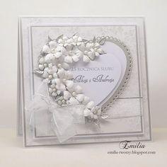 Emilia-tworzy (@emilia_tworzy)   Kartka na 25 rocznicę ślubu - srebrne gody…