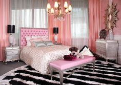 Another marvelous PINK bedroom!!!...