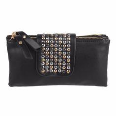 2016 Brand New Women's Clutch Handbags Purses PU Leather Wallets Rivet Zipper Bags Women Clutches Luxury Handbags Bolsa Feminina #shoes, #jewelry, #women, #men, #hats