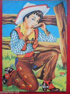 LE COWBOY ALBUM COLORIAGE HEMMA 1957.MARIE JOSE MAURY in | eBay
