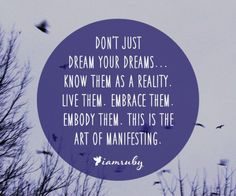 Know Your Dreams as Reality