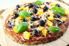 lowcarb thunfisch pizza