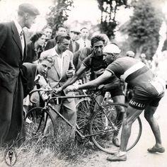 Gino Bartali (rode professionally '35 to '54)