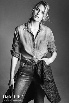 This is the story behind the denim shirt. | Read more at H&M Life