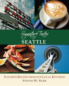 I might be a little biased, but the recipes in here are amazing! 125 restaurant recipes of Seattle!