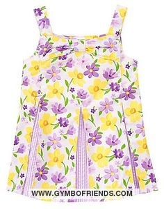 NWT Gymboree - Daffodil Garden - Daffodil Violet Pleated Top - Size 9 - 1 available - $14 shipped