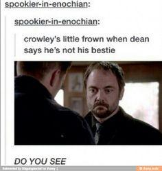 Poor Crowley!