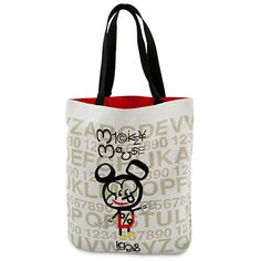 Mickey Mouse Tote - Artist Series One | Bags & Totes | Disney Store