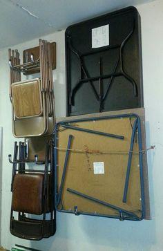 Garage organization …