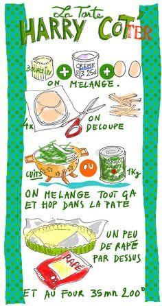 tarte aux haricots verts et au boursin