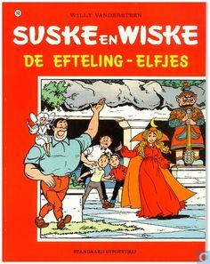 Strip - Suske en Wiske - De Efteling-elfjes