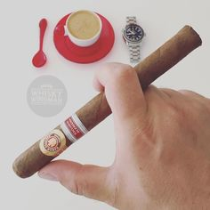After an indulgent visit to the #libationstation last night it's time to #sackup & embrace the dayA delicious RA 898 ER Alemania 2014 with an absolutely cracking #fazendapantano Ristretto from my coffee chums down @deargreen  Just in time for #thewife to make Bacon  Git'er Done!  . . #coffeeandcigars #coffeetime #ristretto #cigar #deargreen #omega #baconislife #mondaymotivation #whiskywingman #howiroll #instalife #justwingit #showpony #cigarlife #hangovercure #cigarstyle #cigaraficionado