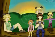 Fun Time with Kids! - Mizzy's Wish (OC Training) by CyberFurry10
