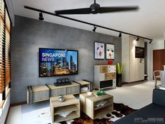 Home Decorating Style 2019 for Best Living Room Tv Console Design Home Designing Inspiration, you can see Best Living Room Tv Console Design Home Designing Inspiration and more pictures for Home Interior Designing 2019 at Home Design Ideas New Living Room, Home And Living, Living Room Decor, Living Spaces, Flur Design, Hall Design, Console Design, Room Interior, Interior Design