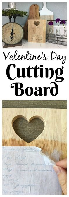 Make the perfect personalized gift by taking a handwritten recipe and transferring it to a cutting board!