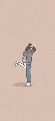 Cute Drawings Of People, Cute Couple Drawings, Romantic Anime Couples, Cute Anime Couples, Love Cartoon Couple, Girl Cartoon, Kawaii Wallpaper, Cute Wallpaper Backgrounds, Anime Cupples