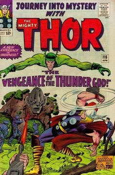 Journey Into Mystery #115, Thor, the Absorbing Man and Loki