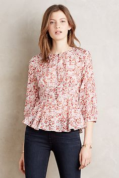 Amelie Blouse #anthropologie
