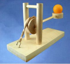 Long Shot Launcher: Wood Catapult Kit