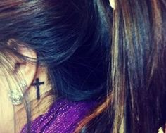 28 Small Cross Tattoos for Girls (6)